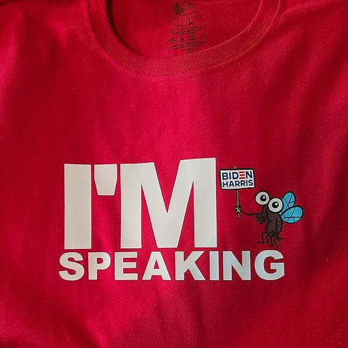 I'm speaking