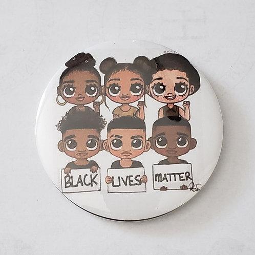 BLM KIDS 3in Button