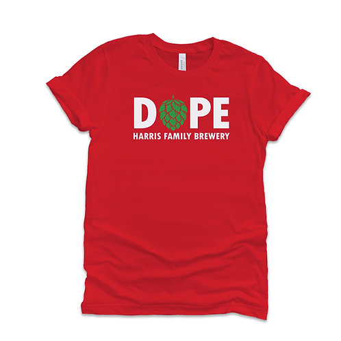 HFB Dope Logo T-shirt RED