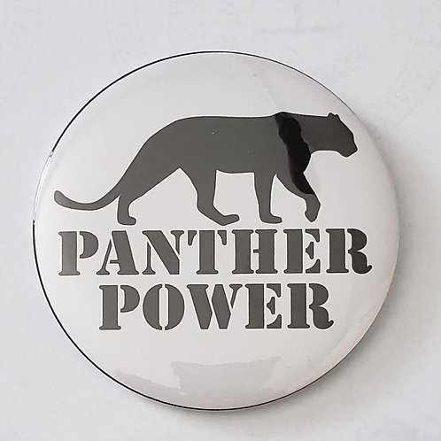 PANTHER POWER 3in Button