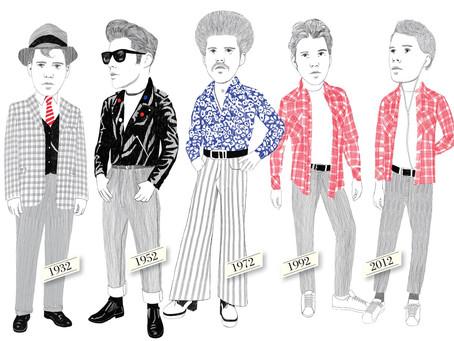 Mens Fashion Review: A Glimpse Into Past Decades