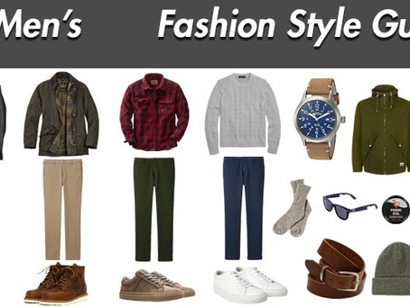 Fashion Style Guide For Men