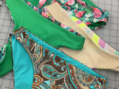Swimwear Fabrics, Past and Present