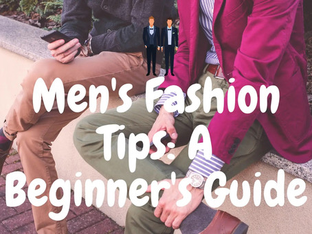 Style Help For Men