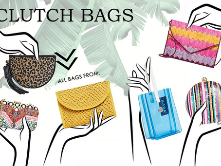 4 Types of Clutch Bags You Should Own