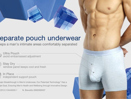 Benefit of Men's Pouch Boxers