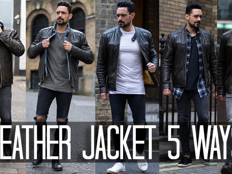 Men's Fashion - How to Choose a Leather Jacket