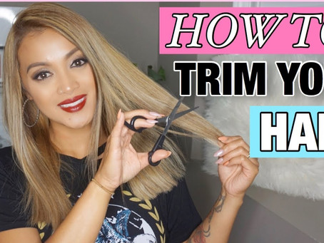 How to Trim Your Hair Properly