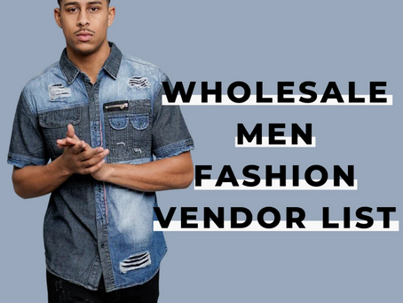 Best Guidance on Men's Wholesale Clothing in Barking