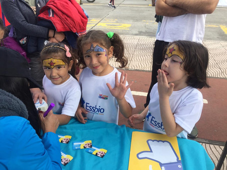 Talcahuano: Participamos de Los Niños Corren!