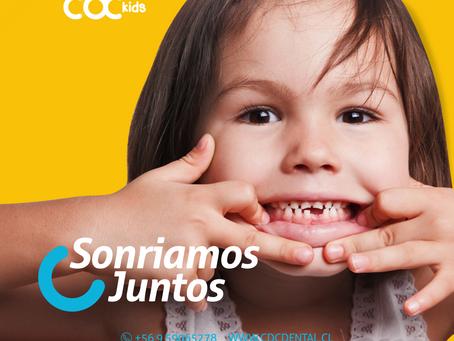 ¿Sabías qué? Tu hijo/a puede venir al dentista desde la aparición de sus primeras piezas dentales