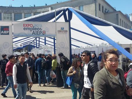 Estuvimos en la Expo Empleos AIEP Concepción 2018
