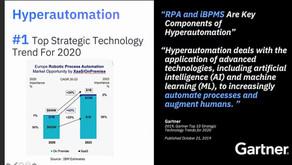 Hyperautomation #1 Top Strategische Technologie Trend in 2020