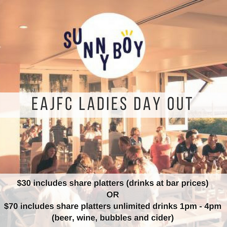 EAJFC LADIES DAY OUT