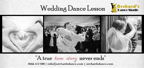 Single Wedding Dance Lesson