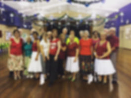 Ballroom dancing 'Dance Moves' class at Burnie Brae for over 50 years