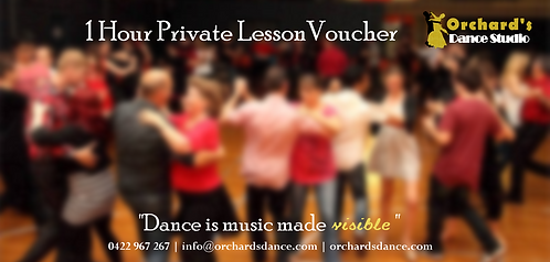 1 Hour Private Lesson Voucher