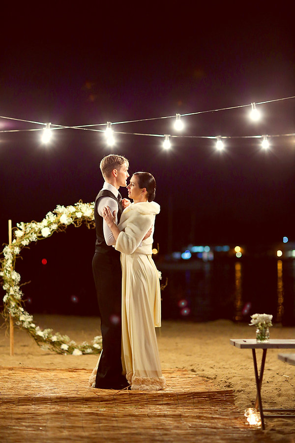 Romantic wedding lessons in Brisbane with Orchard's Dance Studio