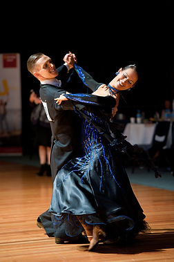 Peter and Rebecca Beardsley Ballroom dancing competition