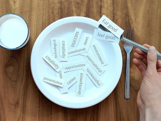 Du bist nicht nur, was Du isst, sondern auch, was Du denkst, fühlst und tust