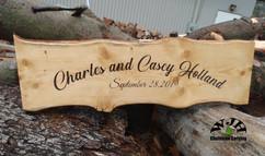 wedding slab