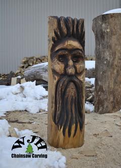 4 foot Wood Spirit