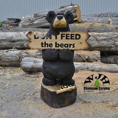 5 foot sign bear