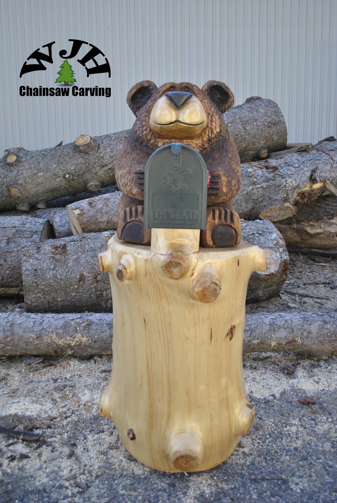 mailbox bear
