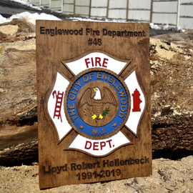 Retirement Plaque
