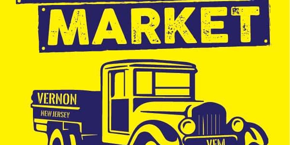 Vernon NJ Farmers Market, June 12