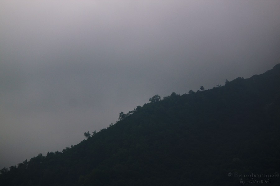 La montagne endormis