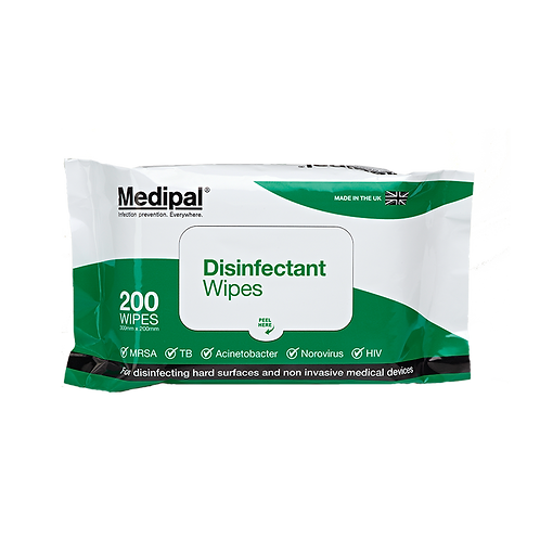200 Wipe Soft Pack - Disinfectant Wipes