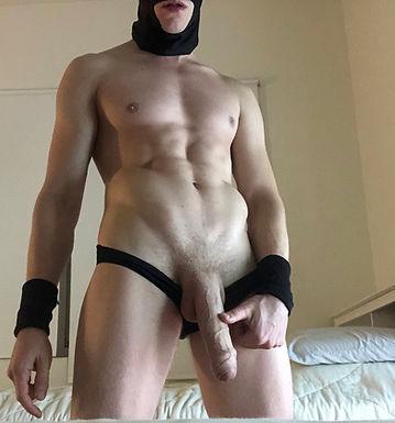 Used black panties - BenBigBoy