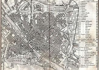 Planta de Firenze - 1895