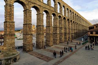 Acueducto de Segovia. Foto Teo Moreno