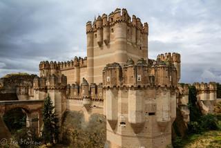 Castillo de Coca. Foto Teo Moreno