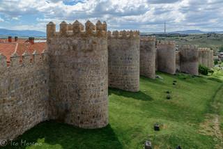 Muralla de Ávila. Foto Teo Moreno
