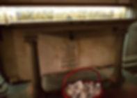 Presunta tumba de Beatrice