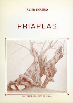 Priapeas, poemario de Javier Figuero sobre el trasfondo de un cálido erotismo transgresor.