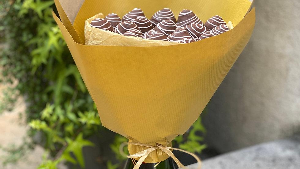 """Bouquet """"Sweet Moët"""""""
