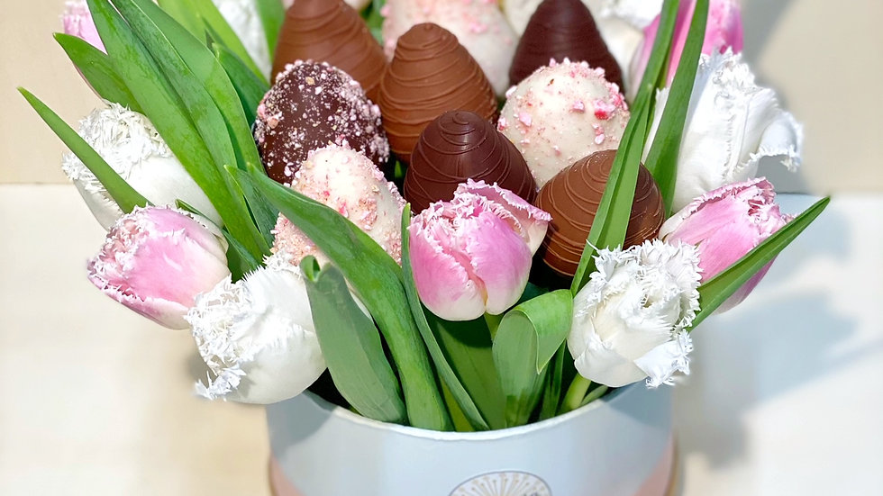 "Boîte ""Tulipes"""