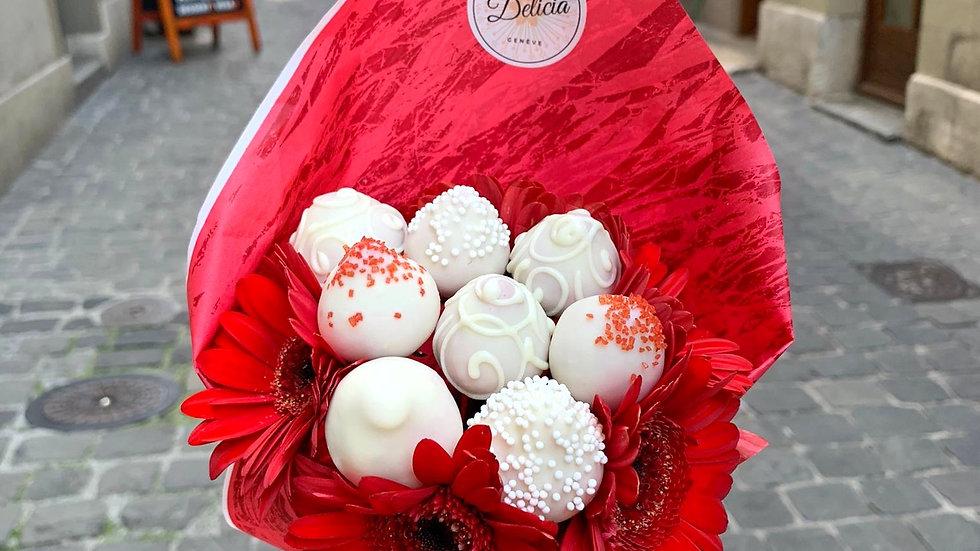 "Mini bouquet ""Gerbera"""