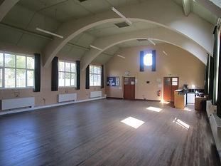 GMC Large Hall towards low level extensi