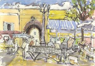 Nice Market (Sketchbook)
