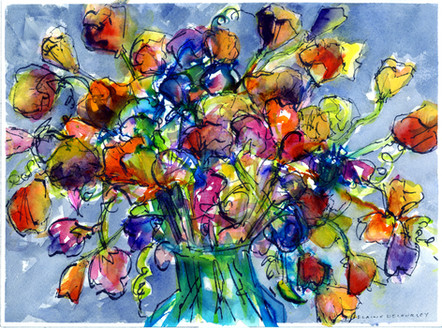 California Poppies - SOLD
