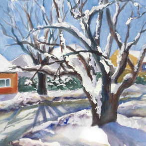 Snowy Day - SOLD