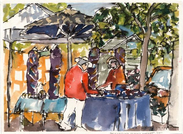Hornby Market Stand (Sketchbook)