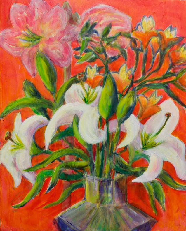 Alstromeria & Lillies - SOLD