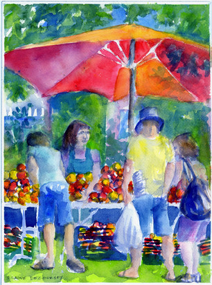 Tomatoes Stall