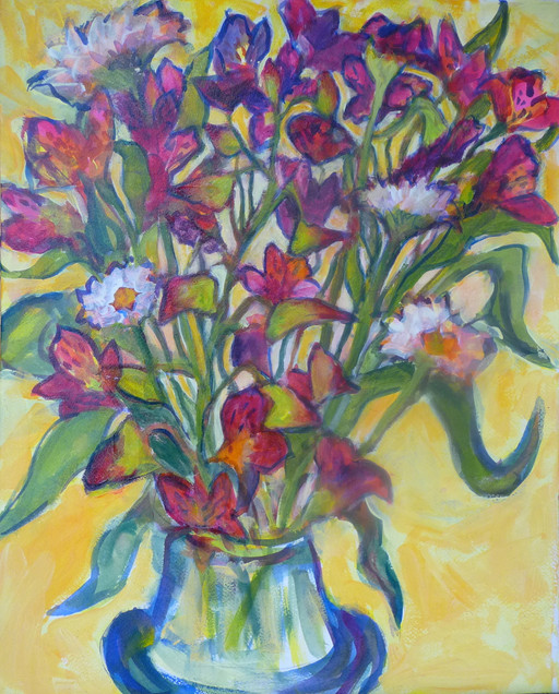 Orchids and Others - SOLD